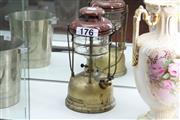 Sale 8346 - Lot 58 - Antique Tilley Lamp