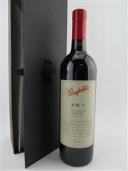 Sale 8385 - Lot 653 - 1x 2003 Penfolds RWT Shiraz, Barossa