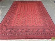 Sale 8455 - Lot 1043 - Afghan Turkoman Woollen Rug (300 x 200cm)