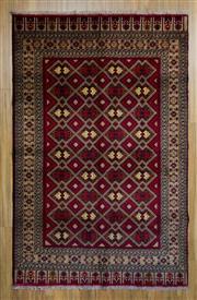 Sale 8566C - Lot 86 - Afghan Herati 240cm x 150cm