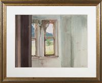 Sale 8735 - Lot 81 - Peter Chapman, House on the Hawkesbury, Watercolour, 1978, signed and dated lower right 51 x 69cm