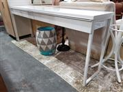 Sale 8777 - Lot 1091 - Modern Hall Table with Two Drawers
