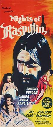 Sale 8822A - Lot 5074 - Nights of Rasputin - 75 x 32cm (sheet size)