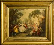 Sale 8418A - Lot 32 - After Nicholas Lancret, d.1743 - The Dancer Camargo 65 x 79cm