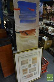 Sale 8487 - Lot 2098 - Designing Raffles Hotel, Poster; Plus Artist Unknown Potato Field