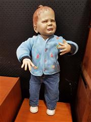 Sale 8822 - Lot 1050 - Fibreglass Crying Child Mannequin