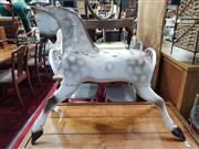 Sale 8822 - Lot 1192 - Part Timber Rocking Horse