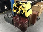 Sale 8819 - Lot 2257 - 2 Bowling Bags, 2 Suitcases & a XXXX Gold Sports Bag