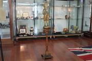 Sale 8288 - Lot 45 - Edwardian Plaster Figure of Boy On Pedestal