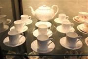 Sale 8288 - Lot 53 - Coalport Coffee Service For Eight Persons