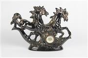 Sale 8384 - Lot 29 - Figural Horse Clock