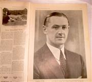 Sale 8460C - Lot 67 - The Sydney Mail Wednesday September 16, 1936. Picture of Gubby Allen. Page 5. Very good.