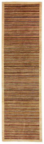 Sale 8626A - Lot 185 - A Cadrys Afghan Modern Stripe Wool Carpet, Size; 369X106cm, RRP; $2700
