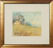 Sale 8759 - Lot 2077 - Georges Millet - Country Cottage 19.5 x 23cm