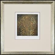 Sale 8309A - Lot 93 - Judith Rosenberg (1944 - ) (2 works) - Genie, 1991 22 x 21cm, each