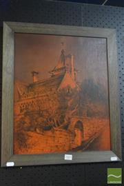 Sale 8525 - Lot 2003 - Alex McMillan (1910 - 1987) - Annandale Abbey 44.5 x 36.5cm