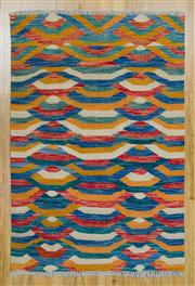 Sale 8566C - Lot 87 - Persian Chobi Kilim 152cm x 102cm