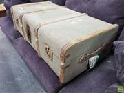 Sale 8637 - Lot 1089 - Timber Bound Travelling Trunk