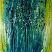 Sale 8938 - Lot 503 - Svein Koningen (946 - ) - Morning Forest, 1998 120 x 120 cm