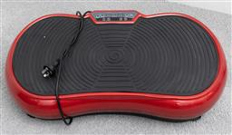 Sale 9256H - Lot 96 - An Ultra slim whole body shaker vibration machine in red, W69cm.