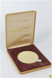 Sale 8604W - Lot 45 - Wedgwood Sydney Cove Medallion