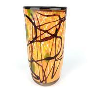 Sale 8607R - Lot 27 - Art Glass Vase (H: 31cm)