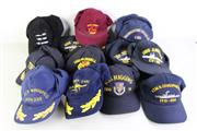 Sale 8952M - Lot 664 - Collection Of Mostly US Naval Caps Incl USS Peleliu