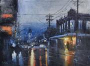 Sale 9072A - Lot 5032 - Herman Pekel (1956 - ) - Auburn Lights 52 x 71 cm (frame: 81 x 100cm)