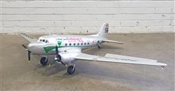 Sale 9112 - Lot 1045 - Foam scale model of airplane (160 x 110cm)