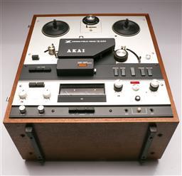 Sale 9136 - Lot 72 - Akai Cross-field head/X-360 tape recorder