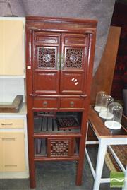 Sale 8390 - Lot 1313 - Oriental 2 Door Cabinet