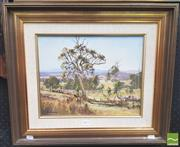 Sale 8413T - Lot 2013 - Les Graham (1942 - ) - Eureka Fields 28.5 x 36cm