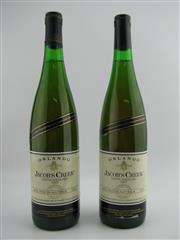 Sale 8454W - Lot 59 - 2x 1987 Orlando Jacobs Creek Riesling, Coonawarra