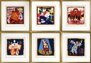 Sale 8459 - Lot 537 - Robert Juniper (1929 - 2012) (6 works) - Opera Series, 2004 sheet size: 33 x 30.5cm, each (frame size: 51.5 x 49cm, each)