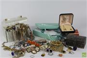 Sale 8512 - Lot 100 - Jewellery Including Costume and Lucite Bag