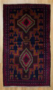 Sale 8566C - Lot 88 - Persian Baluchi 148cm x 83cm