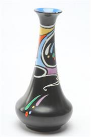 Sale 8681 - Lot 10 - Retro Shelley Fluted Vase H 18cm