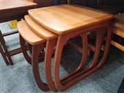 Sale 8839 - Lot 1051 - Very Good Quality Parker Knoll Teak Nest of Three Tables