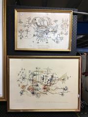 Sale 8752 - Lot 2054 - 2 Rowland Emmet Prints