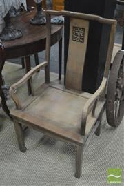 Sale 8310 - Lot 1625 - Pair of Oriental Armchairs