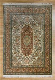 Sale 8566C - Lot 89 - Kashmiri Silk 217cm x 153cm