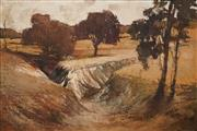 Sale 8613 - Lot 2043 - Harold Lane (1925 - 2012) - The Australian Landscape 70.5 x 105cm
