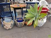 Sale 8601 - Lot 1204 - Collection of Various Planters & Plants