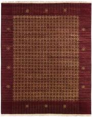 Sale 8626A - Lot 189 - A Cadrys Indian Contemporary Design Wool & Silk Carpet, Size; 302x241cm, RRP; $3300