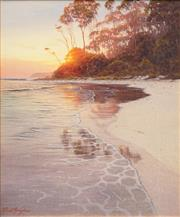 Sale 8642 - Lot 501 - David Brayshaw (1960 - ) - Sunrise 54.5 x 44.5cm