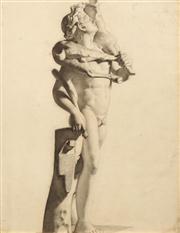 Sale 8642A - Lot 5096 - Artist Unknown - Christ the Good Shepperd 60.5 x 47cm