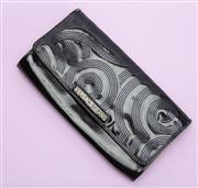 Sale 8661F - Lot 49 - A Versace Jeans black clutch, some wear, H 18 x W 33cm