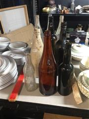 Sale 8701 - Lot 57 - Collection Of Vintage Bottles Including Cottees And Pepsi Mirinda
