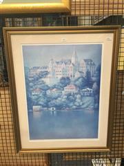 Sale 8707 - Lot 2037 - George Hatsatouris - Kinkoppal, Rose Bay   Print ed.83/250, 75 x 60.5cm, signed lower right