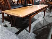 Sale 8765 - Lot 1088 - G-Plan Teak Long John Coffee Table